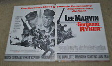 Motion Picture Daily Jan 16 1968 ad Lee Marvin Sergeant Ryker review Grand Slam
