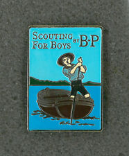 SCOUTS OF JAPAN (NIPPON) - SCOUTING FOR BOY by BADEN POWELL SCOUT SCARF WOGGLE D