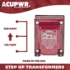 2000 Watt ACUPWR Step Up Voltage Transformer Converter - Made in the USA