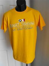 NEW East Tawas Michigan Mens Small (S) T-Shirt by J. America 57JP