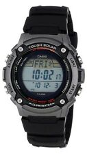 Casio WS200H-1A Mens Black resin TOUGH SOLAR Sports Watch 100M LED Alarm