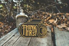Think First Camera Film Roll Embroidered or Sew On Patch