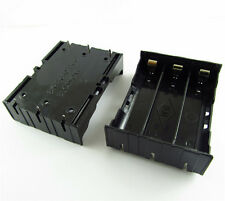 Plastic Battery Case Holder Storage Box For 3x 18650 Rechargeable Battery 3.7V