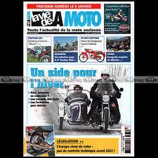 LA VIE DE LA MOTO LVM N°774 SIDE-CAR & HIVER ★ CYCLO ITOM BSA BANTAM 175 BUSHMAN