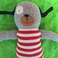 BlaBla Dog Childrens Plush Stuffed Animal Large Andiamo Peru Kids Cotton Knitted