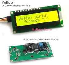 Yellow DC 5v 162 16X2 1602 Displays Serial LCD Module Screen Arduino IIC/I2C/TWI