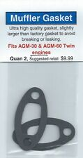 AGM-30 & AGM-60 Twin Exhaust/Muffler Gasket 2 Pack NIP