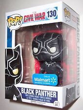 Funko POP Vinyl Walmart Exclusive BLACK PANTHER Onyx Captain America Civil War