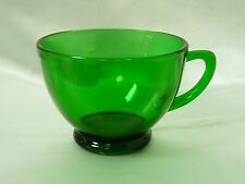 "Anchor Hocking Forest Green Punch or Snack Glass Cup 2-3/8"" Emerald"