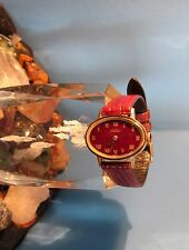 Ernest Borel Ladies Vintage C Watch 17 Jewel Synchron Fond Acier Case Rare Works