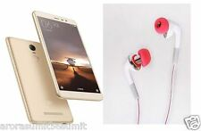 For REDMI NOTE 3 MI XIAOMI, Pannu HIGH BASS 3.5mm HANDSFREE HEADPHONE EARPHONE .