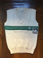 vintage nike tennis vest men's size large