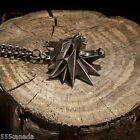 The Witcher 3 III Wild Hunt Wolf Medallion - Necklace NEW Collector's Edition