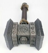 "21.5"" World of Warcraft Doom Hammer 1:1 Cosplay Weapon ALL METAL Halloween Xmas"