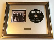 SIGNED/AUTOGRAPHED RIVAL SONS - GREAT WESTERN VALKYRIE CD FRAMED PRESENTATION