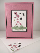 """Stampin Up """"Up in the Air"""" Handmade Any Occasion Card"""
