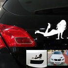 1 X Warning Car Sticker Woman Tilting Legs Reflective Car Decals Sexy Car U90