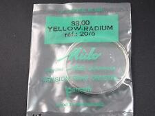 33mm Yellow Radium Tensn Ring Mido Vintage Watch Crystal R#20/5 Watrprf Permafit