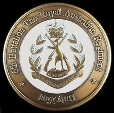 6 RAR ROYAL AUSTRALIAN REGIMENT INFANTRY UNIT COIN * AFGHANISTAN * IRAQ *