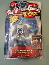 Power rangers Operation overdrive evil alien figure  new in box Light up head