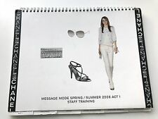 CHANEL SPRING SUMMER 2008 ACT 1 MESSAGE MODE STAFF BOOK CATALOG VIP PRESS RARE