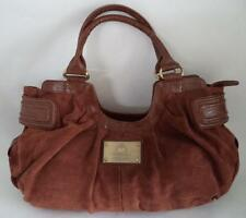 LARGE TOMMY AND KATE LIMITED EDITION SUEDE LEATHER BAG HOLDALL TOTE SLOUCH