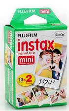 Fujifilm Instax Mini White Film 20shots for Instant Camera 7s/8/25/50/70/90 SP2