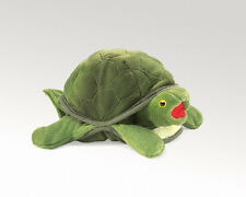 BABY TURTLE PUPPET #2521 ~Peek-a-Boo! ~ Free Shipping/USA ~ Folkmanis Puppets