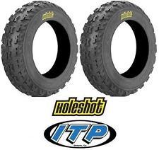 2 ITP HoleShot MXR6 MXR 6 ATV Front Tire Set 20x6x10