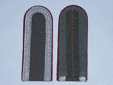MATCHED PAIR EAST GERMAN SHOULDER BOARDS 1