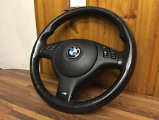 BMW E46 3 Series M SPORT Multifunction Steering Wheel & Airbag - E38 E39