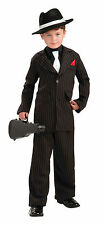 Forum Novelties Littlest Gangster Child Sz S 4-6 Costume New! Free Shipping!