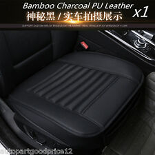 1x PU Leather Breathable Soft Car Seat Chair Cover Pad Protect Mat Cushion Black