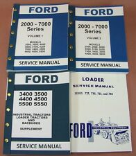 FORD 3400 3500 4400 4500 INDUSTRIAL TRACTOR LOADER SERVICE REPAIR SHOP MANUAL ID