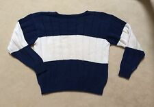 BEAUTIFUL Men's GAP 100% Cotton Sweater GREAT COLOR COMBO! PERFECT CONDITION!