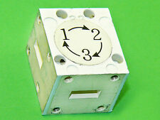 WR42 Waveguide Circulator Isolator Switch Low Loss 24GHz Isol. 29dB USA