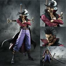 Anime One Piece POP DX Dracule Mihawk Ver.2 PVC Figure Toy Gift