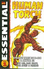 Essential Human Torch Vol. 1 by Jack Kirby & Dick Ayers 2003, TPB Marvel OOP