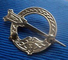Attraente Celtic 10ct Oro Irlandese TARA Spilla H/M Dublino c.1990s