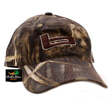 "NEW BANDED GEAR WAXED HUNTING CAP HAT REALTREE MAX-4 CAMO  ""b"" LOGO ADJUSTABLE"