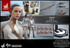 Star Wars Ep. VII 1/6 Rey Resistance Outfit Hot Toys Exclusive MMS377 Sideshow