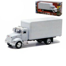 PETERBILT UTILITY 335 BOX TRUCK WHITE 1/43 MODEL BY NEW RAY 15803 D