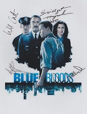 Blue Bloods (Promo) Donnie Wahlberg Tom Selleck RARE CAST (4) SIGNED RP 8x10!!!