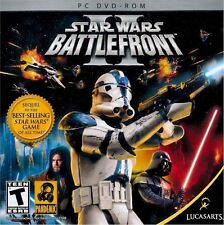 Video Game PC Star Wars Battlefront II Two 2 Lucasarts Pandemic NEW SEALED Jewel