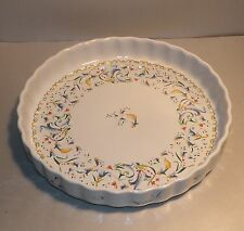 New Quiche Baking Dish, Toscana  Pattern  GIEN