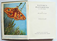 NATURES PLAYGROUND BOOKS 1-4 M Cordelia Leigh 1950s Collins Clear-Type HB VGC