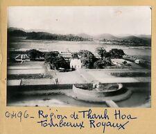 INDOCHINE c. 1940 - Région de Thanh Hoa Tombeaux Royaux - INDO 4
