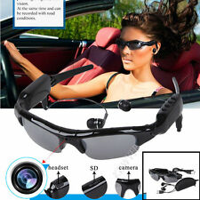 Spy Sunglasses HD DVR Hidden Camera Video Recorder Mp3 Player TF Slot Eyewear