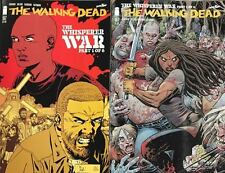 THE WALKING DEAD #157 A & B VARIANT COVER SET BY KIRKMAN ADLARD & STEWART HOT!