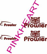 Fleetwood Prowler 2 14x7 2 10x3 decal sticker rv camper small stickers decals